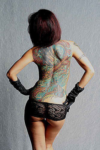Tattoo Girl 1
